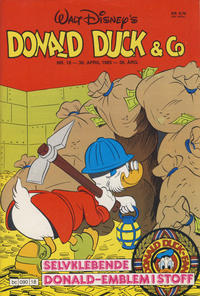 Cover Thumbnail for Donald Duck & Co (Hjemmet, 1948 series) #18/1985
