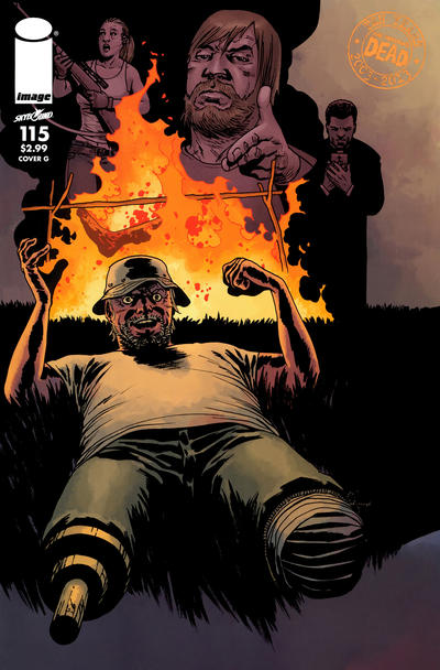 Cover for The Walking Dead (Image, 2003 series) #115 [Cover C]