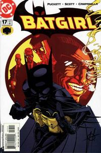 Cover for Batgirl (DC, 2000 series) #17