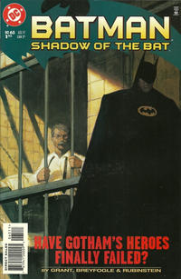 Cover Thumbnail for Batman: Shadow of the Bat (DC, 1992 series) #65