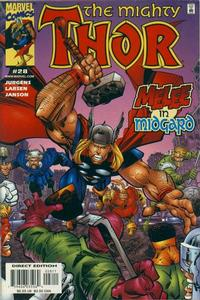 Cover Thumbnail for Thor (Marvel, 1998 series) #28