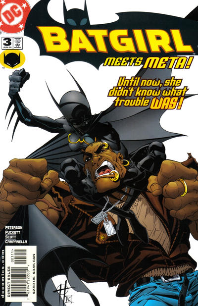 Cover for Batgirl (DC, 2000 series) #3