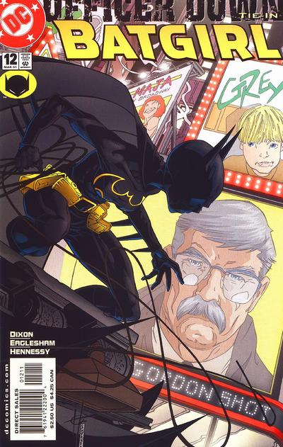 Cover for Batgirl (DC, 2000 series) #12