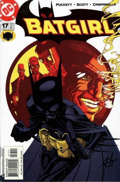 Cover for Batgirl (2000 series) #17