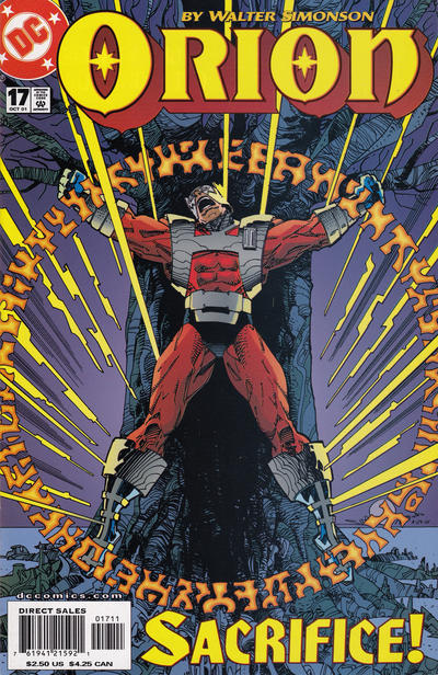 Cover for Orion (DC, 2000 series) #17