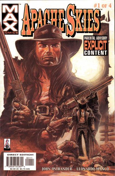 Cover for Apache Skies (Marvel, 2002 series) #1