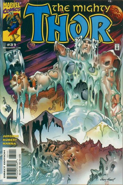 Cover for Thor (Marvel, 1998 series) #31