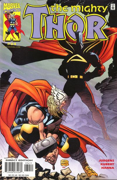 Cover for Thor (Marvel, 1998 series) #34