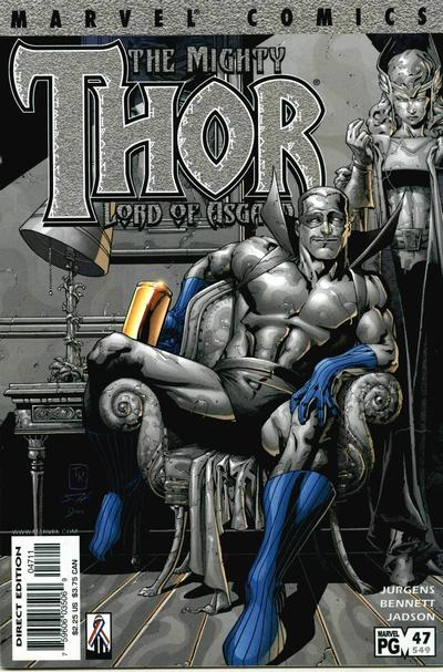Cover for Thor (Marvel, 1998 series) #47 (549)