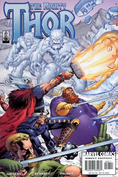 Cover for Thor (Marvel, 1998 series) #48 (550)