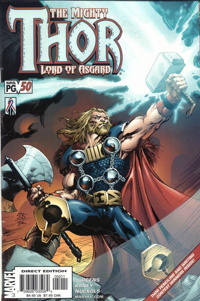 Cover for Thor (Marvel, 1998 series) #50 (552)