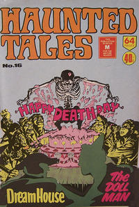 Cover Thumbnail for Haunted Tales (K. G. Murray, 1973 series) #16