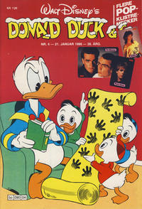 Cover Thumbnail for Donald Duck & Co (Hjemmet, 1948 series) #4/1986