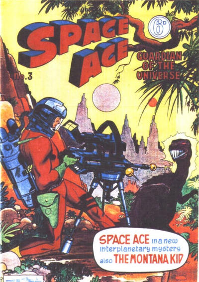 Cover for Space Ace (Atlas Publishing, 1960 series) #3