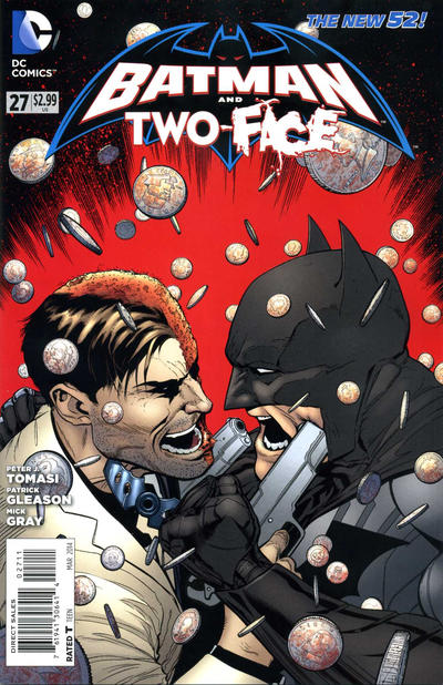 Cover for Batman and Robin (DC, 2011 series) #27 [Scribblenauts Unmasked Variant Cover]