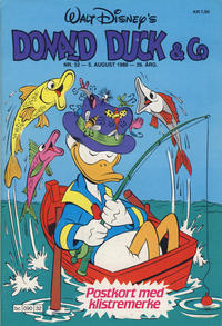 Cover Thumbnail for Donald Duck & Co (Hjemmet, 1948 series) #32/1986
