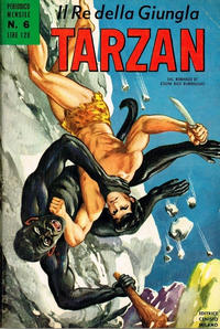 Cover Thumbnail for Tarzan (Editrice Cenisio, 1968 series) #6