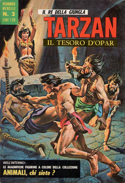 Cover for Tarzan (Editrice Cenisio, 1968 series) #3