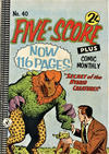 Cover for Five-Score Plus Comic Monthly (K. G. Murray, 1960 series) #40