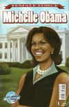 Cover Thumbnail for Female Force: Michelle Obama (2009 series) #1 [With Barcode]