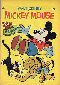 Cover Thumbnail for Walt Disney's Mickey Mouse (W. G. Publications; Wogan Publications, 1956 series) #143