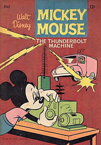 Cover Thumbnail for Walt Disney's Mickey Mouse (W. G. Publications; Wogan Publications, 1956 series) #142