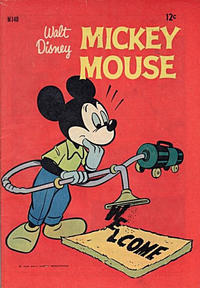 Cover Thumbnail for Walt Disney's Mickey Mouse (W. G. Publications; Wogan Publications, 1956 series) #140