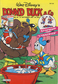Cover Thumbnail for Donald Duck & Co (Hjemmet, 1948 series) #38/1986