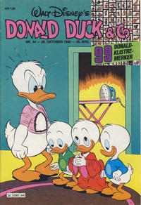 Cover Thumbnail for Donald Duck & Co (Hjemmet, 1948 series) #44/1986