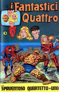 Cover Thumbnail for I Fantastici Quattro (Editoriale Corno, 1971 series) #127