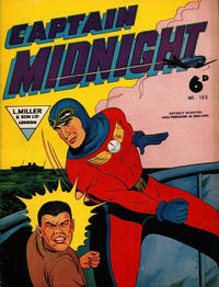 Cover Thumbnail for Captain Midnight (L. Miller & Son, 1950 series) #132