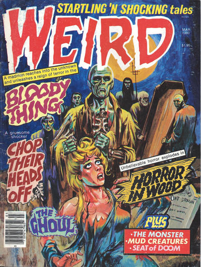 Cover for Weird (Eerie Publications, 1966 series) #v13#2 [1]