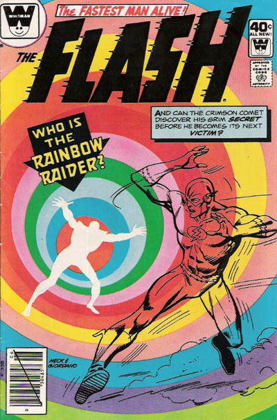 Cover for The Flash (DC, 1959 series) #286 [Whitman Variant]