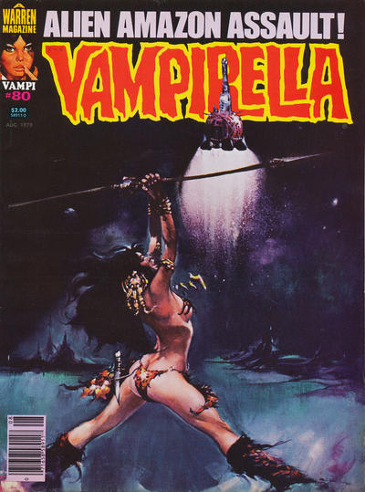 Cover for Vampirella (Warren, 1969 series) #80