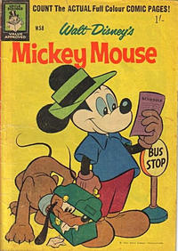 Cover Thumbnail for Walt Disney's Mickey Mouse (W. G. Publications; Wogan Publications, 1956 series) #58