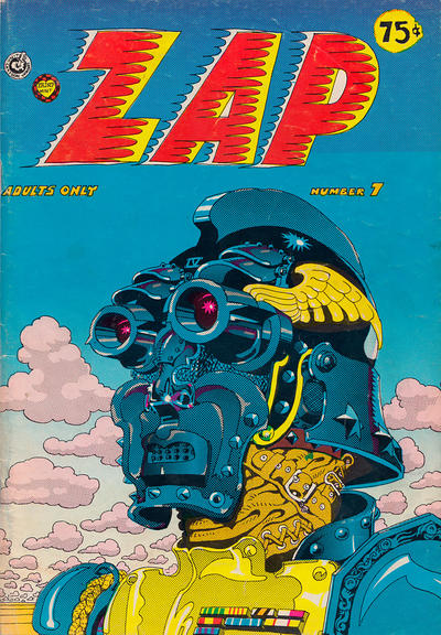 Cover for Zap Comix (The Print Mint Inc, 1969 series) #7