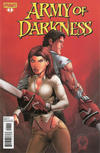 Cover Thumbnail for Army of Darkness (2012 series) #1 [Marat Mychaels Variant]