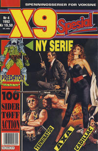 Cover Thumbnail for X9 Spesial (Semic, 1990 series) #4/1992