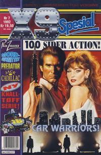 Cover Thumbnail for X9 Spesial (Semic, 1990 series) #7/1992