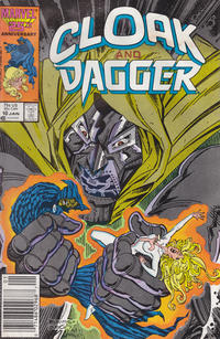 Cover for Cloak and Dagger (Marvel, 1985 series) #10 [Direct Edition]