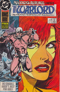 Cover for Warlord (DC, 1976 series) #131 [newsstand]