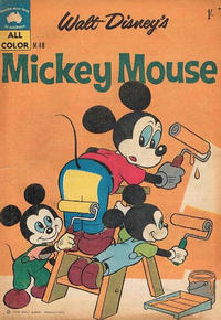 Cover Thumbnail for Walt Disney's Mickey Mouse (W. G. Publications; Wogan Publications, 1956 series) #48