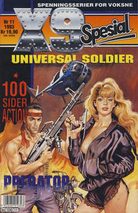 Cover Thumbnail for X9 Spesial (Semic, 1990 series) #11/1993
