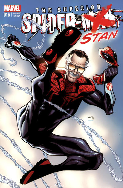 Cover for Superior Spider-Man (Marvel, 2013 series) #16