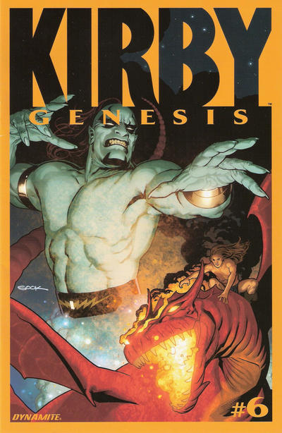 Cover for Kirby: Genesis (Dynamite Entertainment, 2011 series) #6
