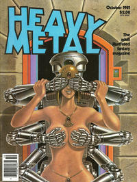 Cover for Heavy Metal Magazine (HM Communications, Inc., 1977 series) #v5#7 [Direct Sales]