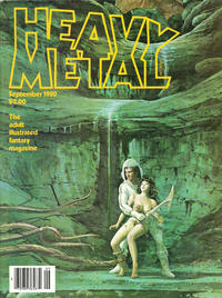 Cover for Heavy Metal Magazine (HM Communications, Inc., 1977 series) #v4#6 [Direct Sales]