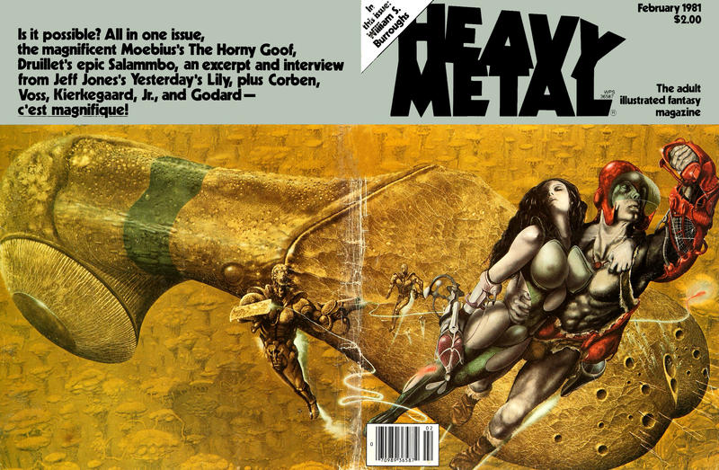 Cover for Heavy Metal Magazine (HM Communications, Inc., 1977 series) #v4#11 [Direct Sales]