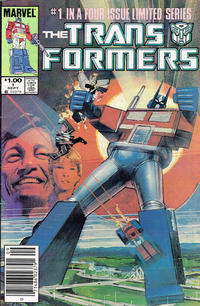 Cover Thumbnail for The Transformers (Marvel, 1984 series) #1 [Canadian Variant]