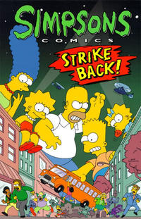 Cover Thumbnail for Simpsons Comics: Strike Back! (HarperCollins, 1996 series)